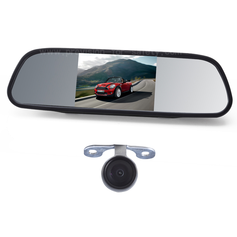 5 Inch Car Backup Camera Mirror PVS-528S