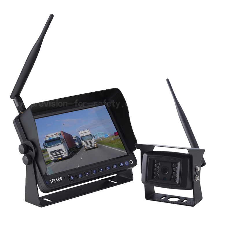 7 Inch Digital Wireless Vehicle RV Backup System PVS-798DW+PVC-790DW