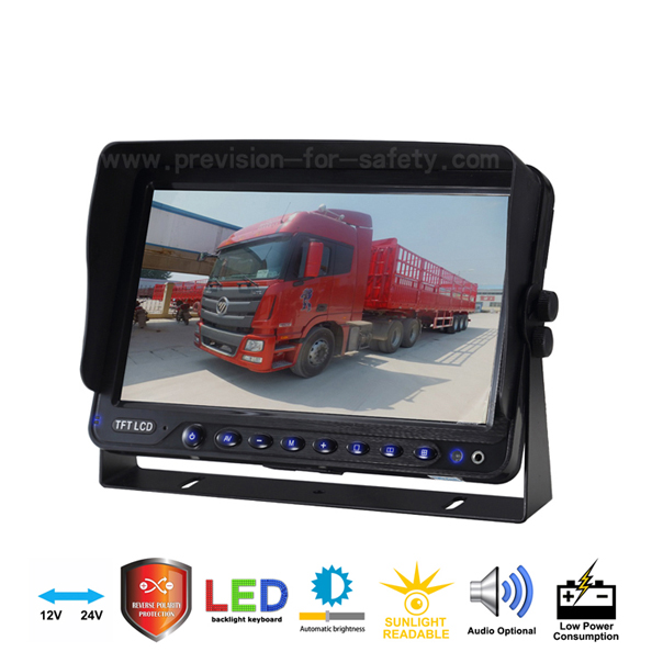 9 Inch Vehicle RV Backup Monitor PVS-958PW