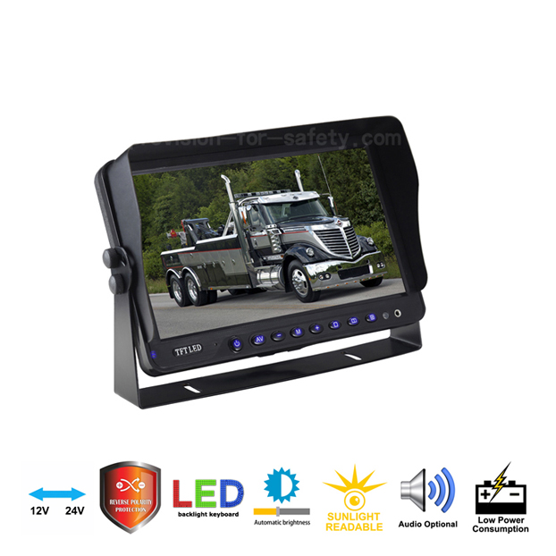 10 Inch Vehicle RV backup Monitor PVS-108PW