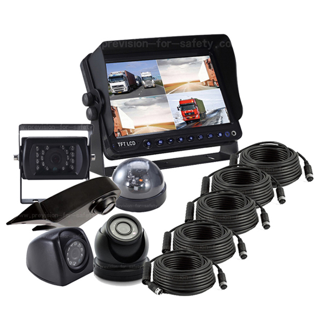 7 Inch Vehicle Quad RV Surveilance System PVS-798Q...