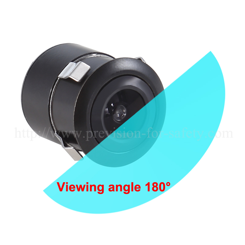 180 degree car camera with viewing angle auto swit...