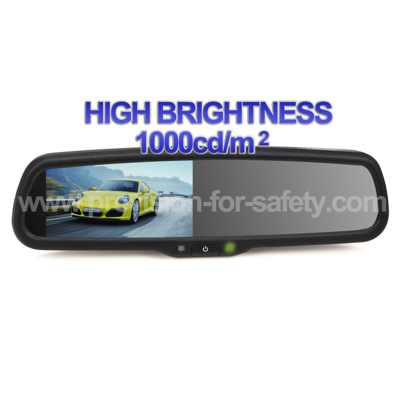 Car Special 4.3 Inch Super Brightness Rearview Mir...