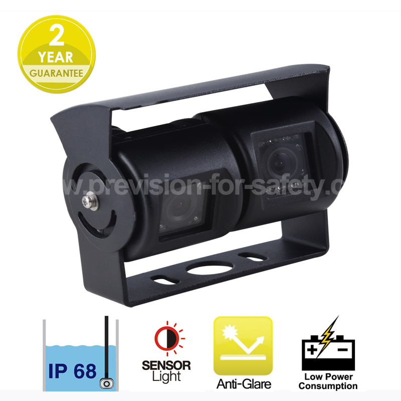 Dual Lens Vehicle RV Backup Camera  PVC-982