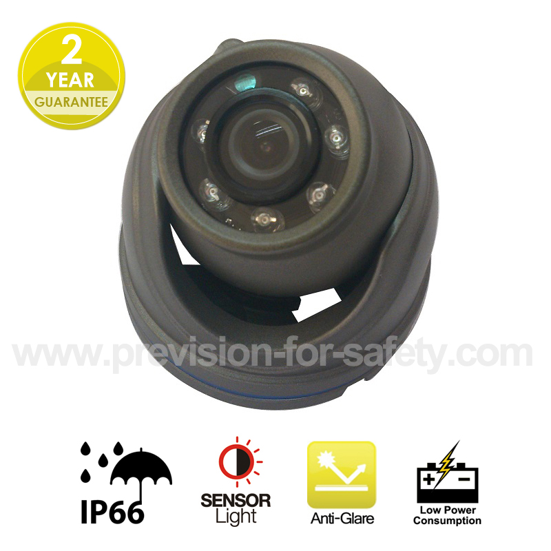 Mini Dome Vehicle CCTV Camera    PVC-650