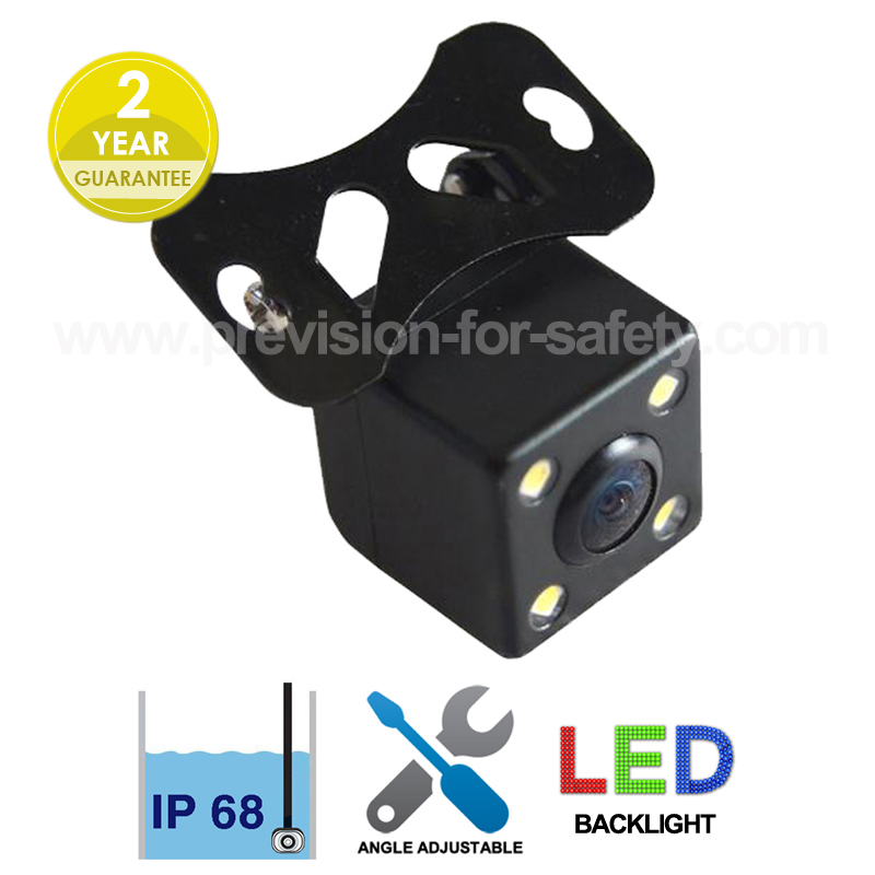 LED Backlight Car Front View/RV Camera PVC-260