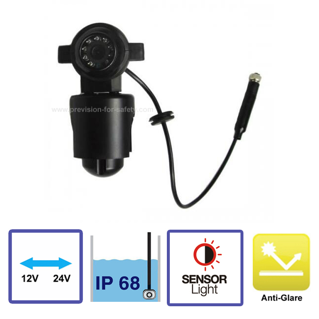 Vehicle Arm Camera PVC-872